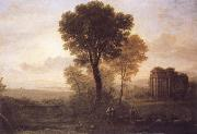 Claude Lorrain Landscape with Jacob,Rachel and Leah at the Well oil painting picture wholesale