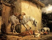 Claude-joseph Vernet The Wounded Trumpeter oil