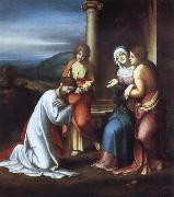 Correggio Christ Taking Leave of His Mother oil painting picture wholesale