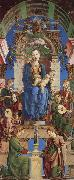 Cosimo Tura The Virgin and Child Enthroned with Angels Making Music oil painting picture wholesale