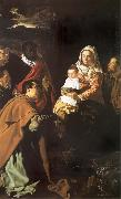 Diego Velazquez The adoracion of the Kings Magicians oil painting picture wholesale