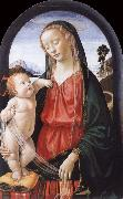 Domenico Ghirlandaio THe Virgin and Child oil