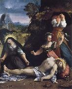 Dosso Dossi Lamentation over the Body of Christ oil