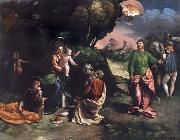 Dosso Dossi The Adoration of the Kings oil