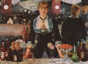 Edouard Manet A Bar at the Follies-Bergere oil painting reproduction