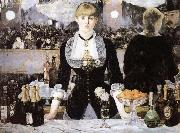 Edouard Manet An inclement in the Foils Bergere oil painting picture wholesale
