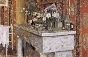 Edouard Vuillard The Mantelpiece oil painting artist
