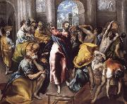 El Greco Christ Driving the Traders from the Temple oil painting picture wholesale