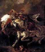 Eugene Delacroix Combat of the Giaour and the Pasha oil painting picture wholesale