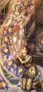 Evelyn De Morgan Our Senora of the Peace oil