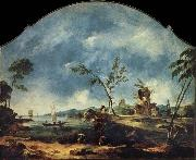 Francesco Guardi Fantastic Landscape oil painting picture wholesale