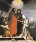 Francesco Vanni The marriage mistico of Holy Catalina of Sienna oil painting picture wholesale