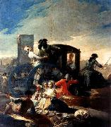 Francisco de goya y Lucientes The Crockery Vendor oil painting picture wholesale