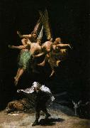 Francisco de goya y Lucientes Witches in the Air oil painting picture wholesale