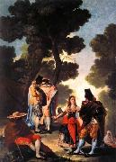 Francisco de goya y Lucientes A Walk in Andalusia oil painting picture wholesale