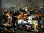 Francisco de goya y Lucientes The Second of May, 1808 oil painting picture wholesale