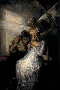 Francisco de goya y Lucientes Les Vieilles or Time and the Old Women oil painting picture wholesale