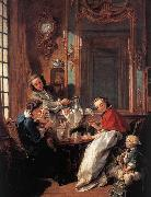 Francois Boucher The Afternoon Meal oil painting picture wholesale