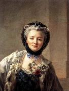 Francois-Hubert Drouais Madame Drouais, Wife of the Artist oil painting artist