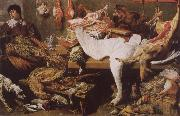 Frans Snyders A Game Stall oil painting picture wholesale