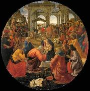 GHIRLANDAIO, Domenico Adoration of the Magi oil painting picture wholesale