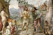 GHIRLANDAIO, Domenico Detail of Baptism of Christ oil painting picture wholesale