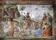 GHIRLANDAIO, Domenico Preaching of St John the Baptist oil painting picture wholesale