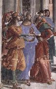 GHIRLANDAIO, Domenico Detail of Presentation of the Virgin at the Temple oil painting picture wholesale