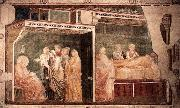 GIOTTO di Bondone Birth and Naming of the Baptist oil painting picture wholesale
