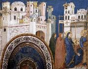 GIOTTO di Bondone Return of Christ to Jerusalem oil painting picture wholesale