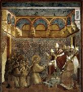 GIOTTO di Bondone Confirmation of the Rule oil painting picture wholesale
