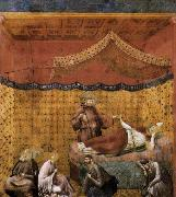 GIOTTO di Bondone Dream of St Gregory oil painting picture wholesale