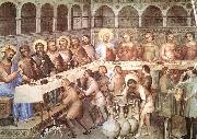 GIUSTO de  Menabuoi Marriage at Cana oil painting artist