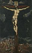 GRECO, El Christ in Agony on the Cross oil painting picture wholesale