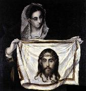 GRECO, El St Veronica Holding the Veil oil painting picture wholesale