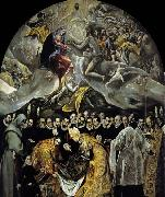 GRECO, El The Burial of the Count of Orgaz oil painting picture wholesale