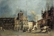 GUARDI, Francesco The Torre del-Orologio oil painting picture wholesale