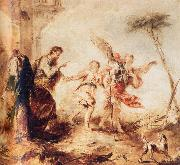 GUARDI, Gianantonio Tobit,Tobias and the Angel oil painting picture wholesale