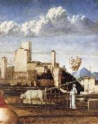Gentile Bellini Detail of The Madonna of t he Meadow oil painting picture wholesale