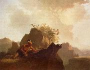 George Caleb Bingham Indiaan-the hidden enemy oil painting picture wholesale
