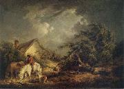 George Morland The Approaching Storm oil painting picture wholesale
