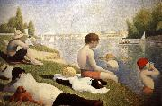Georges Seurat Baders in Asnieres oil painting picture wholesale