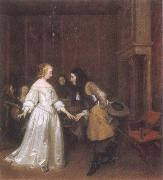 Gerard Ter Borch Dancing Couple oil painting picture wholesale