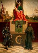 Giorgione Madonna and Child Enthroned between St Francis and St Liberalis oil painting picture wholesale