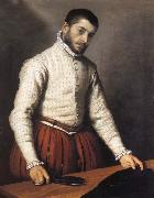 Giovanni Battista Moroni Portrait of a man oil