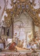 Giovanni Battista Tiepolo The Marriage of the emperor Frederick Barbarosa and Beatrice of Burgundy oil painting picture wholesale