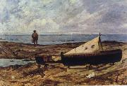 Giovanni Fattori On the Beach oil painting picture wholesale
