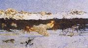 Giovanni Segantini The Punishment of Lust oil painting picture wholesale