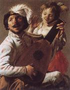 Hendrick Terbrugghen Duet oil painting picture wholesale