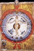 Hildegard of Bingen Her Cosmiarcha,Coreadora and Parent of the Humanity and of humankind oil painting picture wholesale